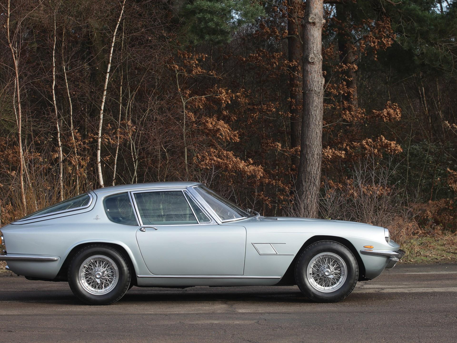 RM Sotheby's - 1969 Maserati Mistral 4.0 Coupé | Paris 2015