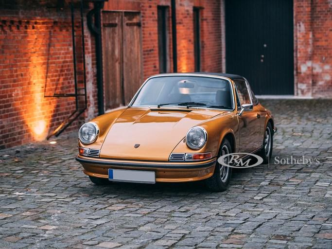 1972年 ポルシェ 911S 2.4 タルガトップ