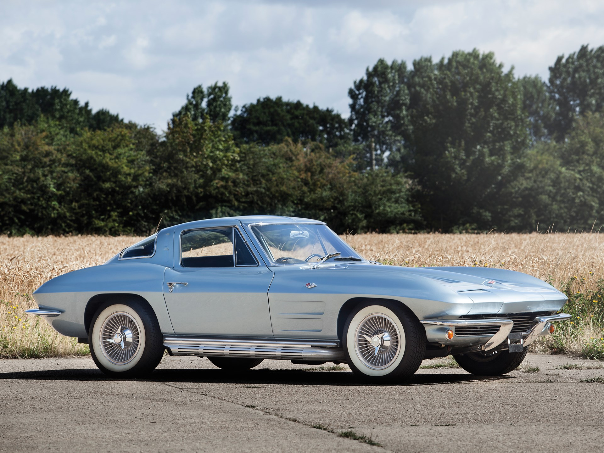 63 Split Window Corvette >> Rm Sotheby S 1963 Chevrolet Corvette Sting Ray Split Window Coupe