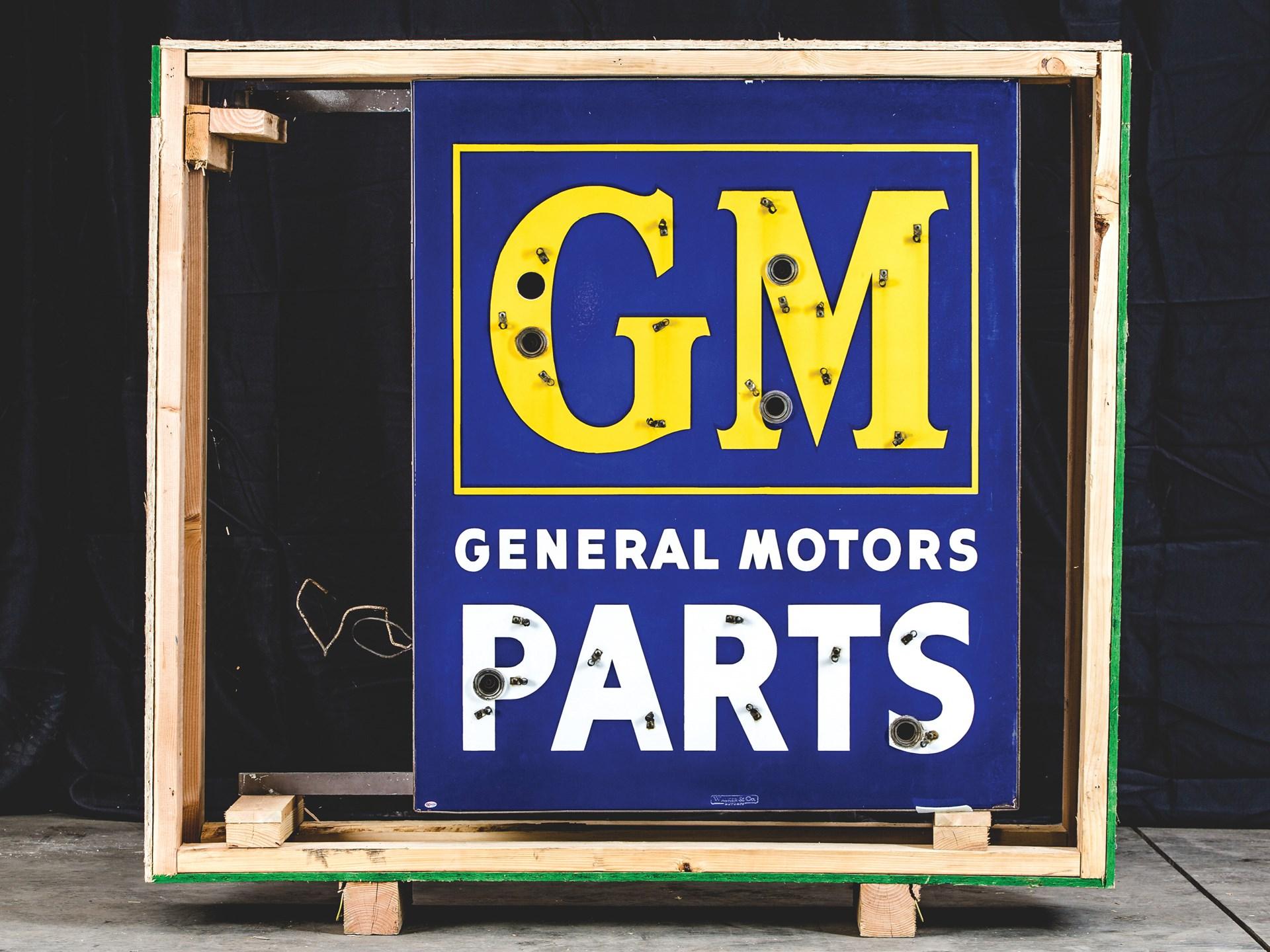 Gm General Motors Parts Neon Signs
