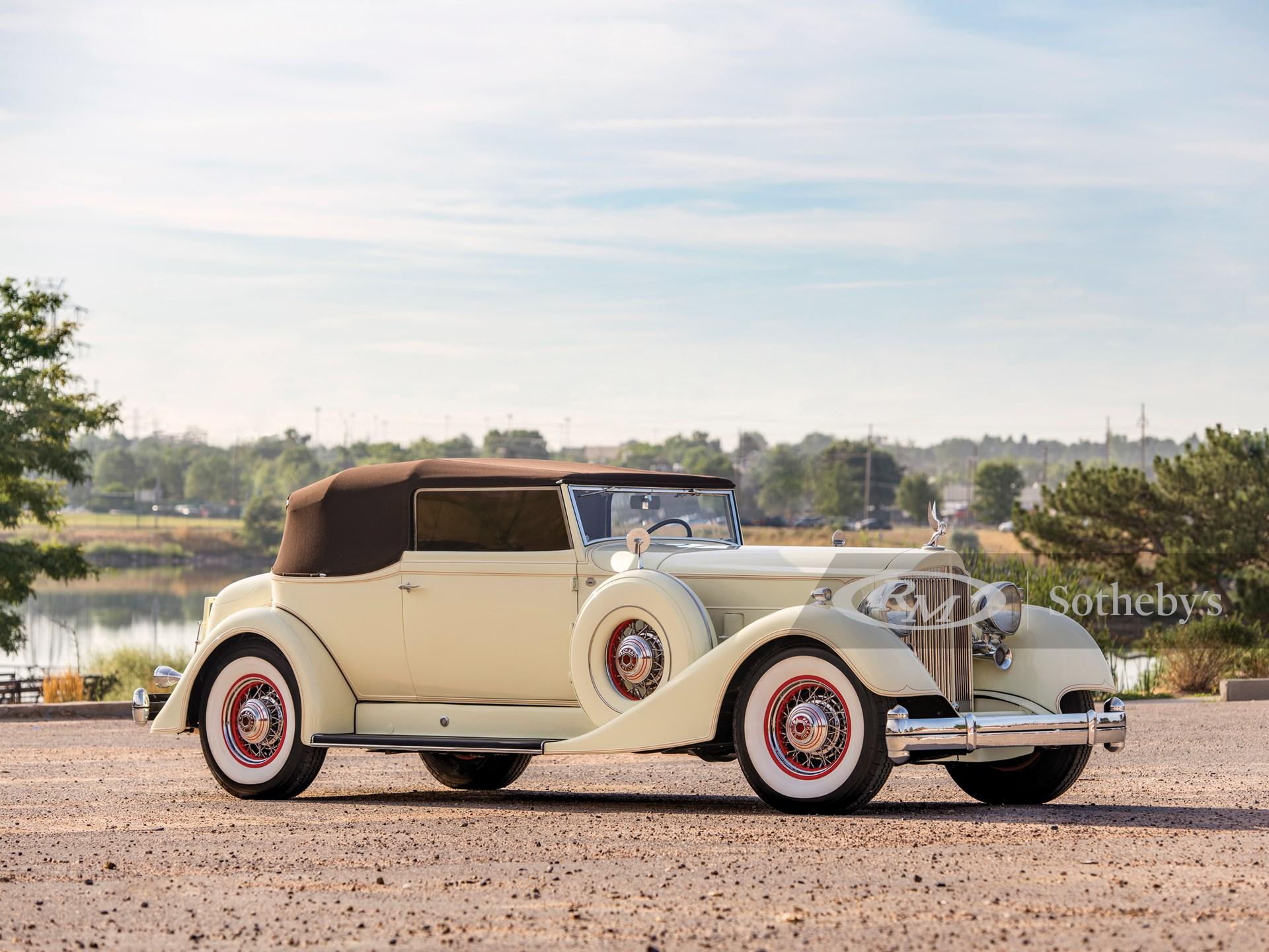1934 Packard Twelve Convertible Victoria