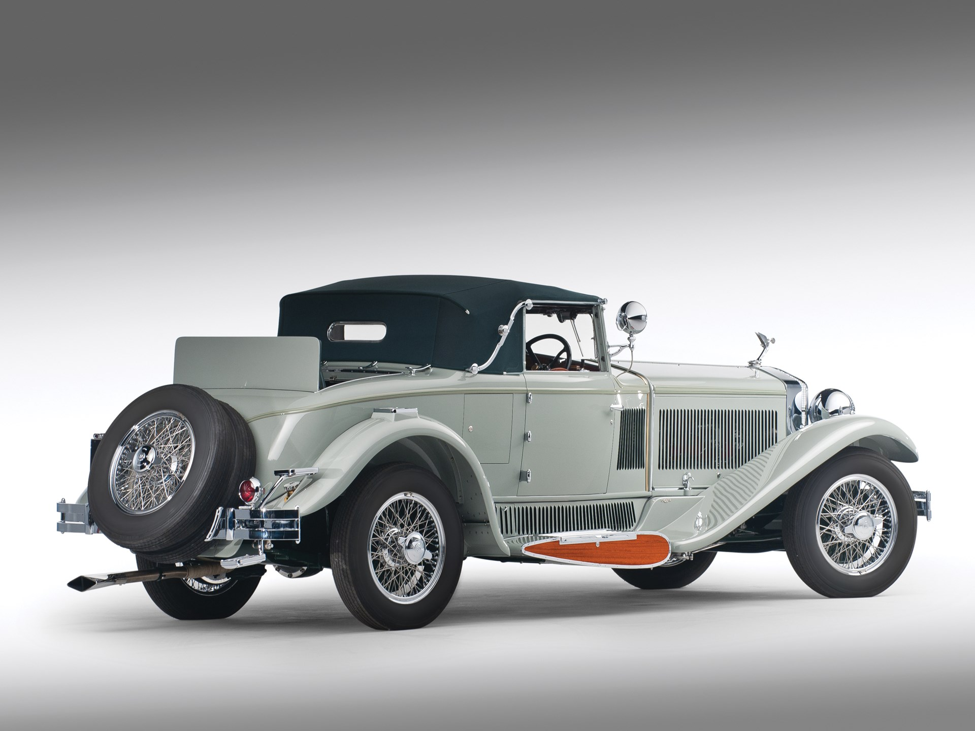 1930 Isotta Fraschini Tipo 8A S Boattail Cabriolet by Castagna