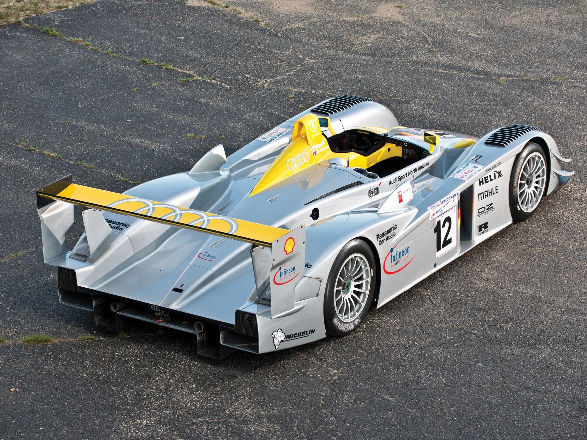 rm sotheby 39 s 2001 audi r8 le mans prototype racing car. Black Bedroom Furniture Sets. Home Design Ideas