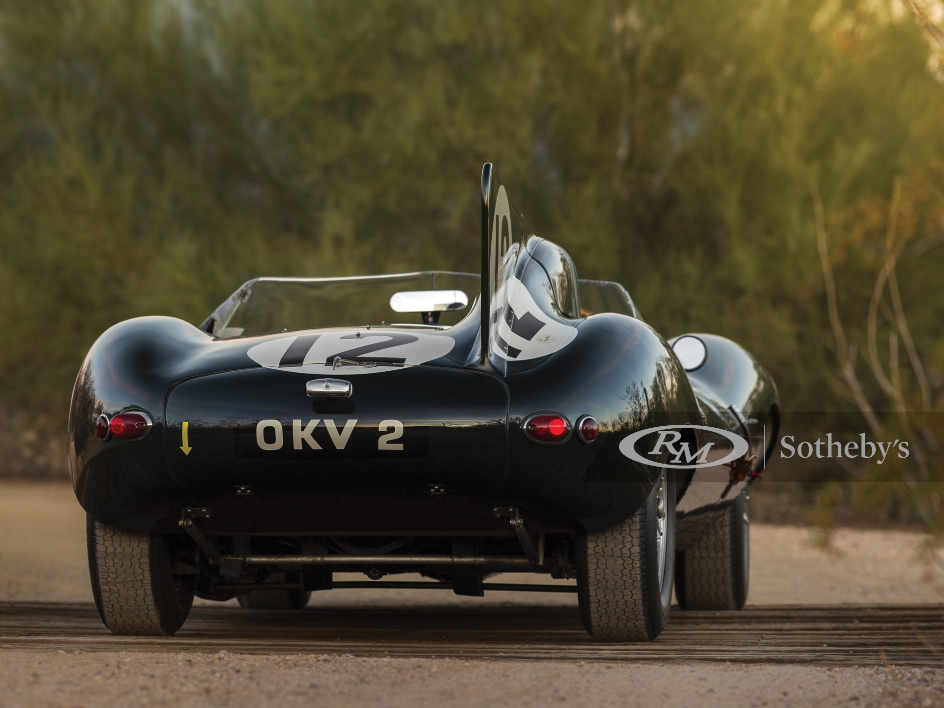 1954 Jaguar D-Type Works  -