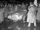 """1950 Ferrari 166 MM/212 Export """"Uovo"""" by Fontana - $The Uovo as seen at the 1951 Mille Miglia."""