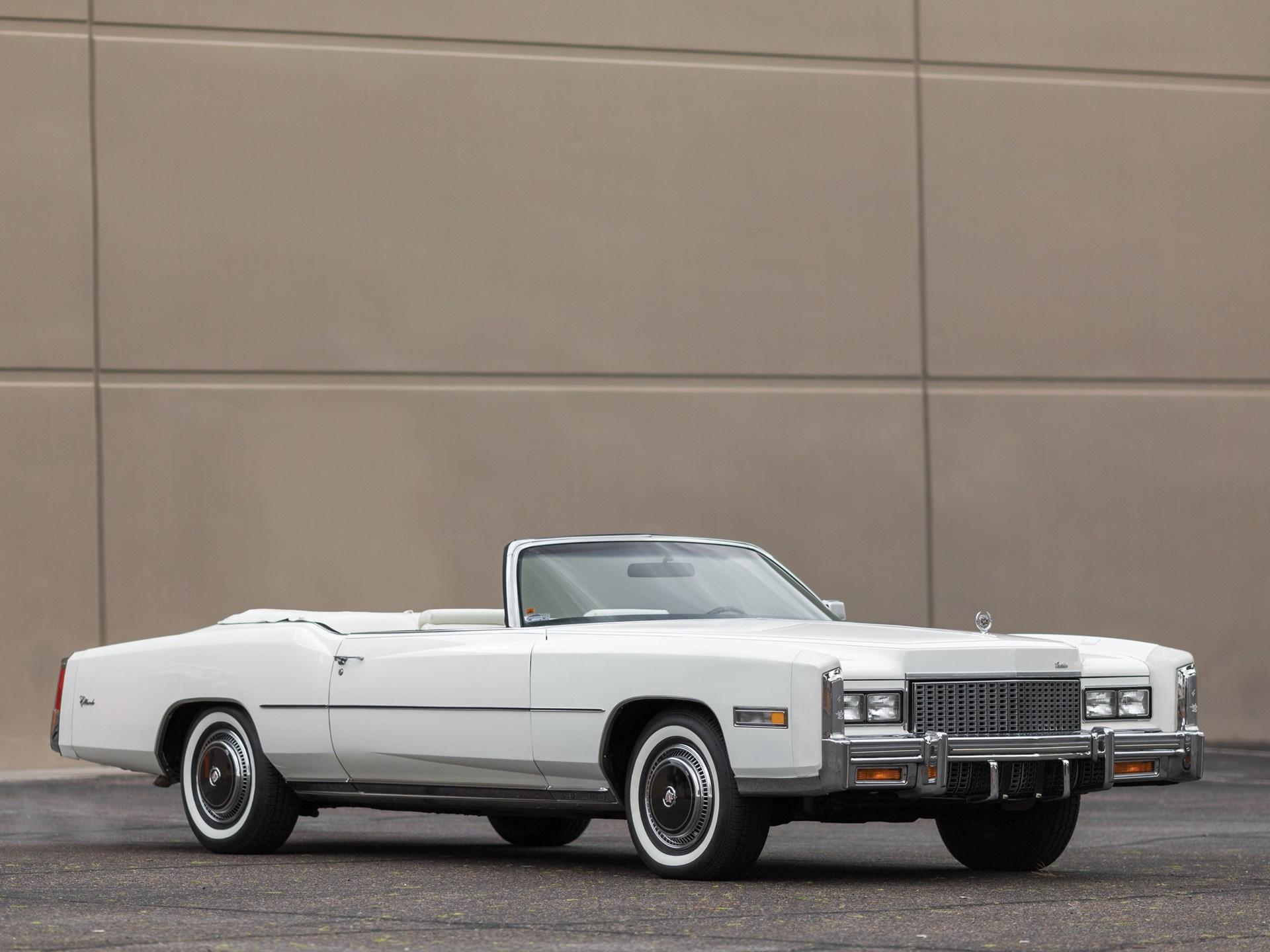 Rm Sotheby S 1976 Cadillac Eldorado Convertible Arizona 2016