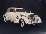 1937 Packard Super 8 Conv. Victoria  - $