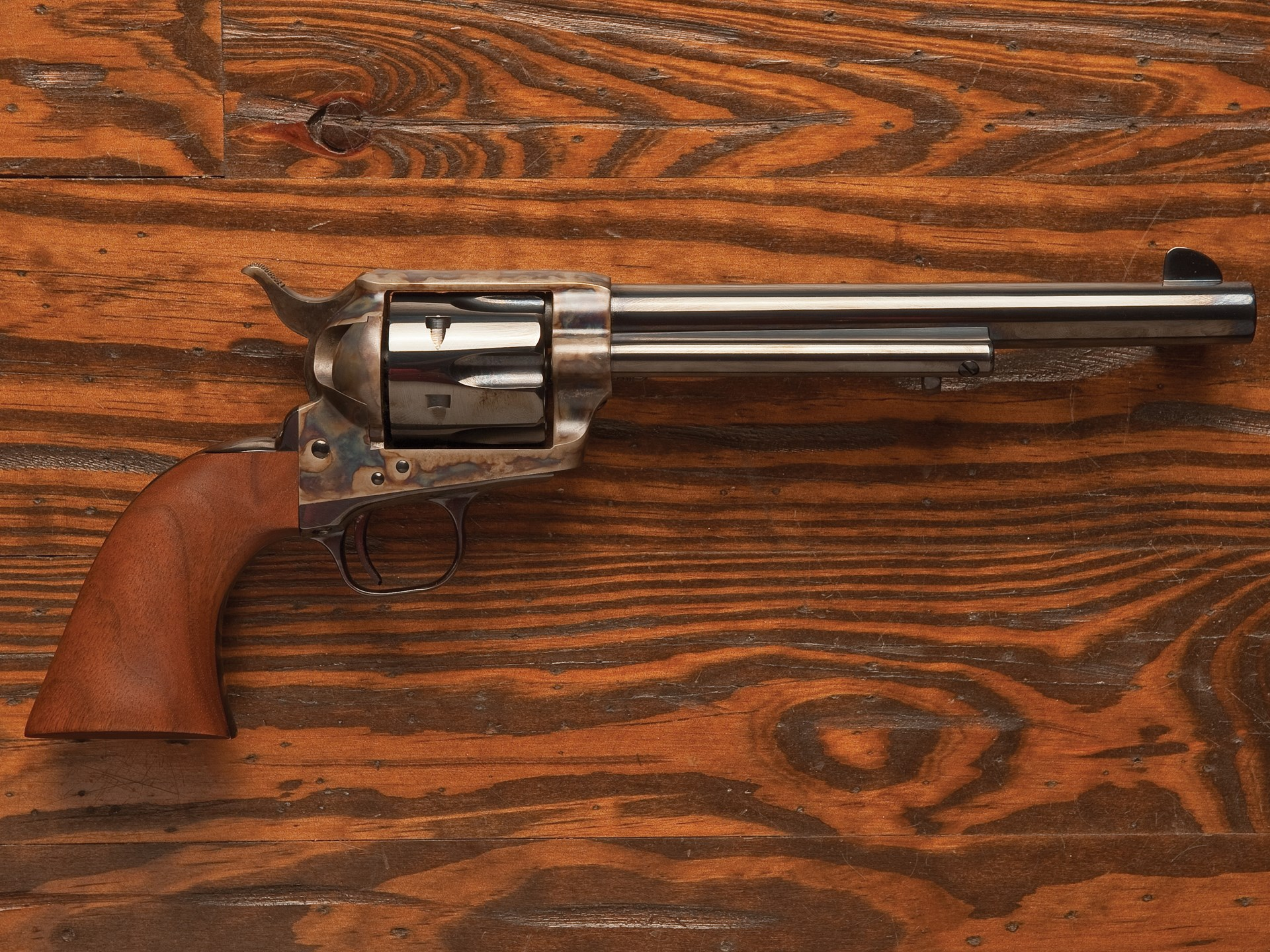 RM Sotheby's - Pair of Commemorative Colt Revolvers | The Milhous