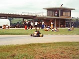 Ayrton Senna Kart - $Senna driving the kart on his track.