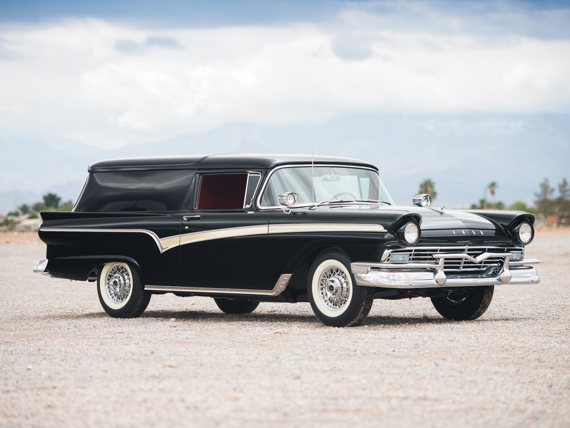 Rm Sothebys 1957 Ford Courier Sedan Delivery Motor City 2016 1951 Chevrolet Deluxe Convertible