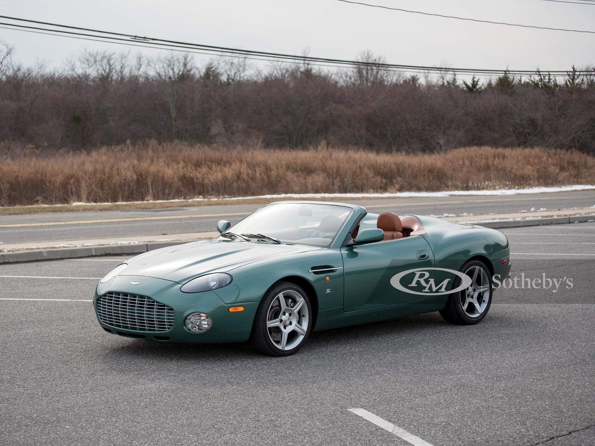 2003 Aston Martin Db Ar1 Zagato Amelia Island 2018 Rm Sotheby S