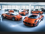 2015 Jaguar C-X75 'Spectre'  - $The lineup of Jaguar C-X75s at Williams prior to their release for on-screen duty in Spectre.