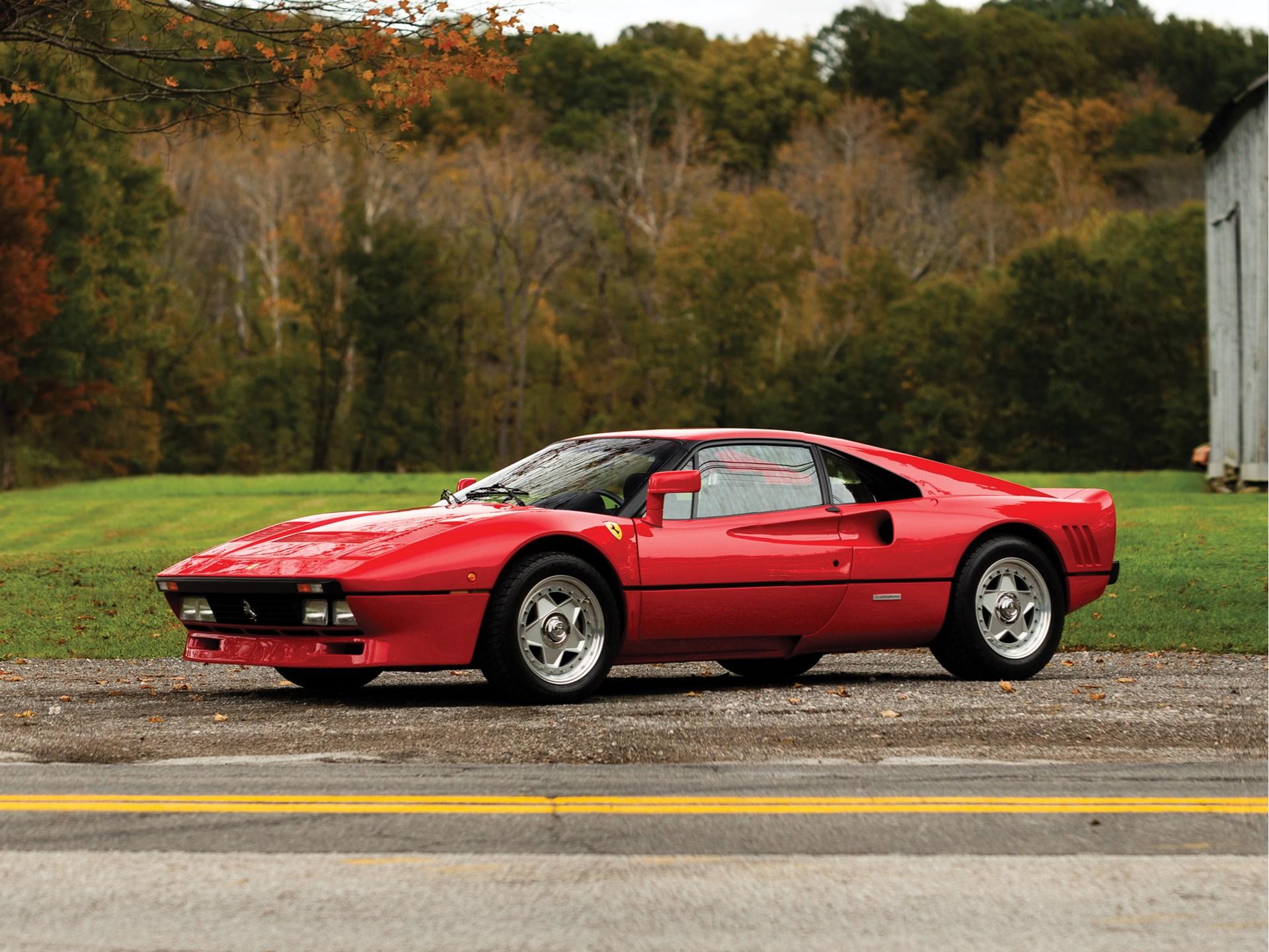 Rm Sothebys 1985 Ferrari 288 Gto Arizona 2019