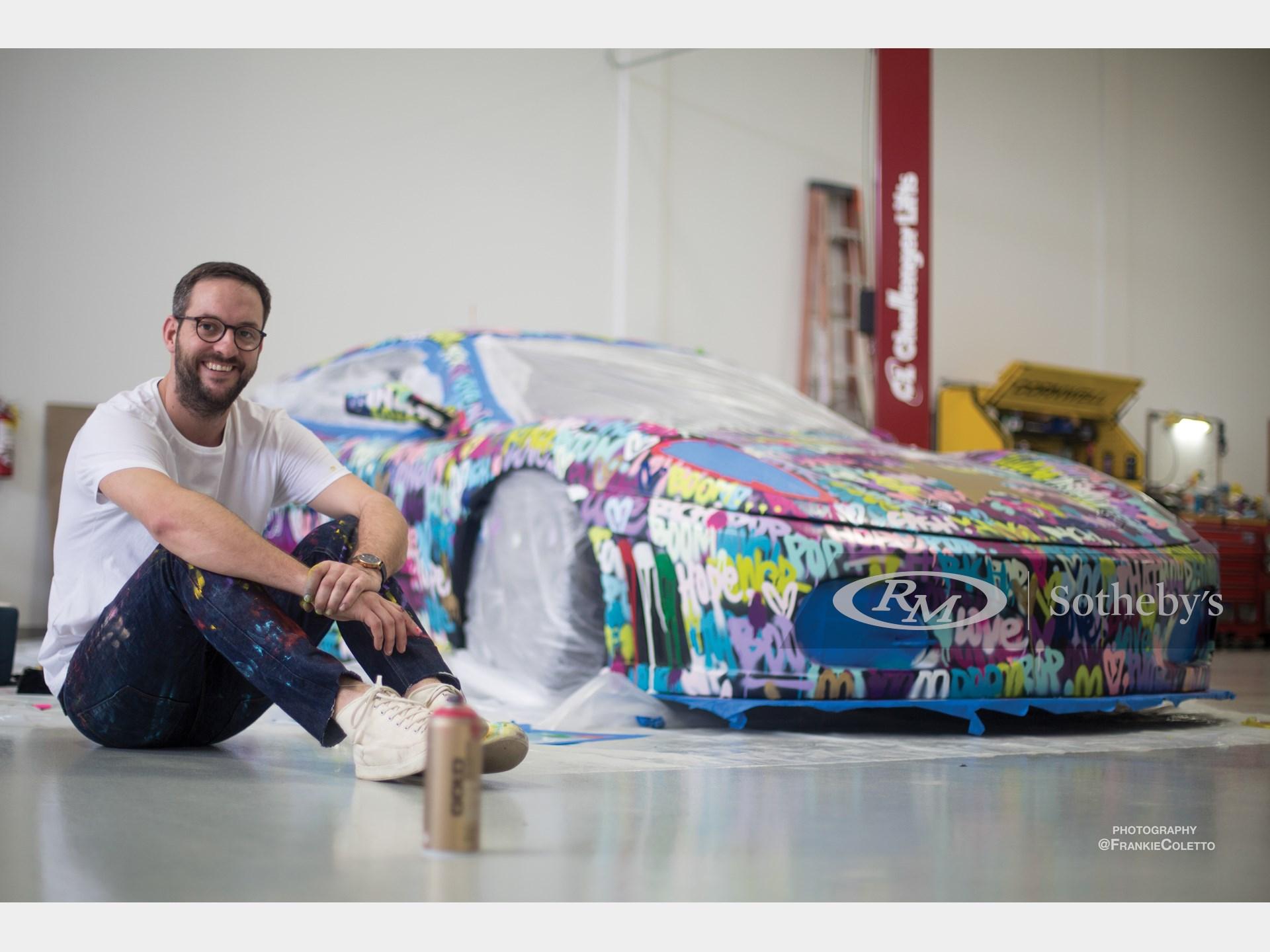 "2008 Ferrari F430 Challenge ""Art Car"" by Ben Levy -"