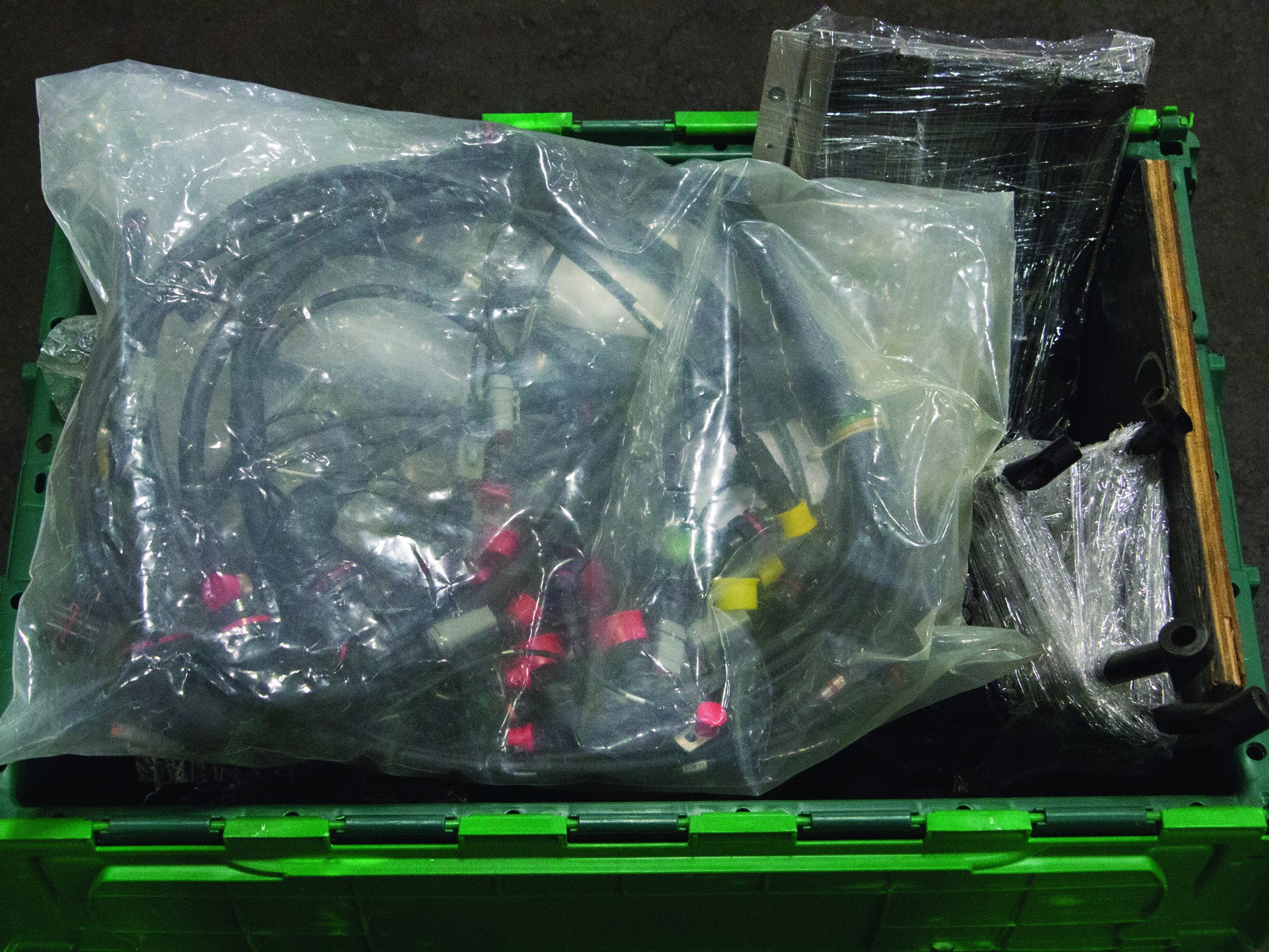 wiring harness and assorted hpd arx-03 parts