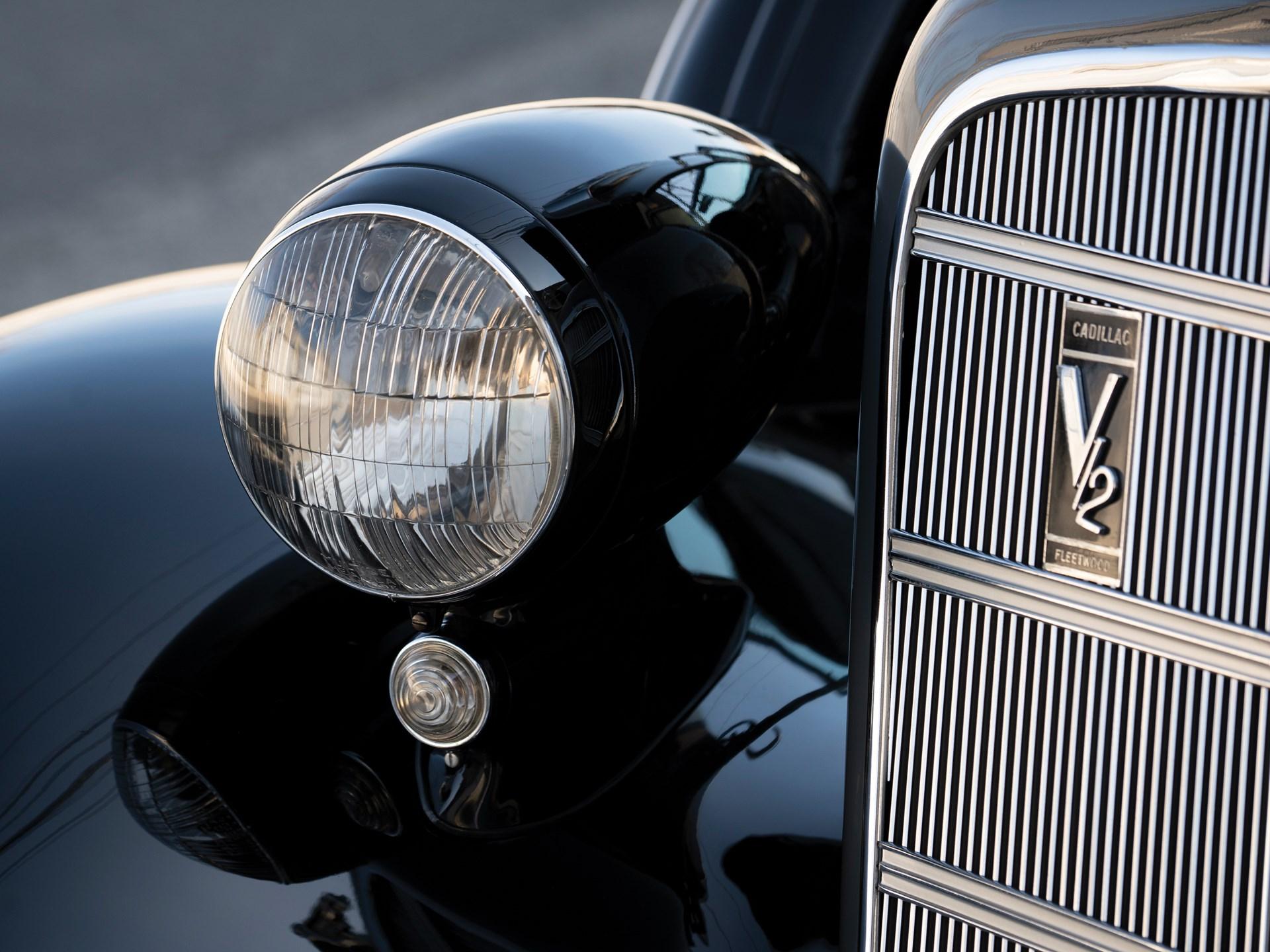 1934 Cadillac V-12 Convertible Sedan by Fleetwood