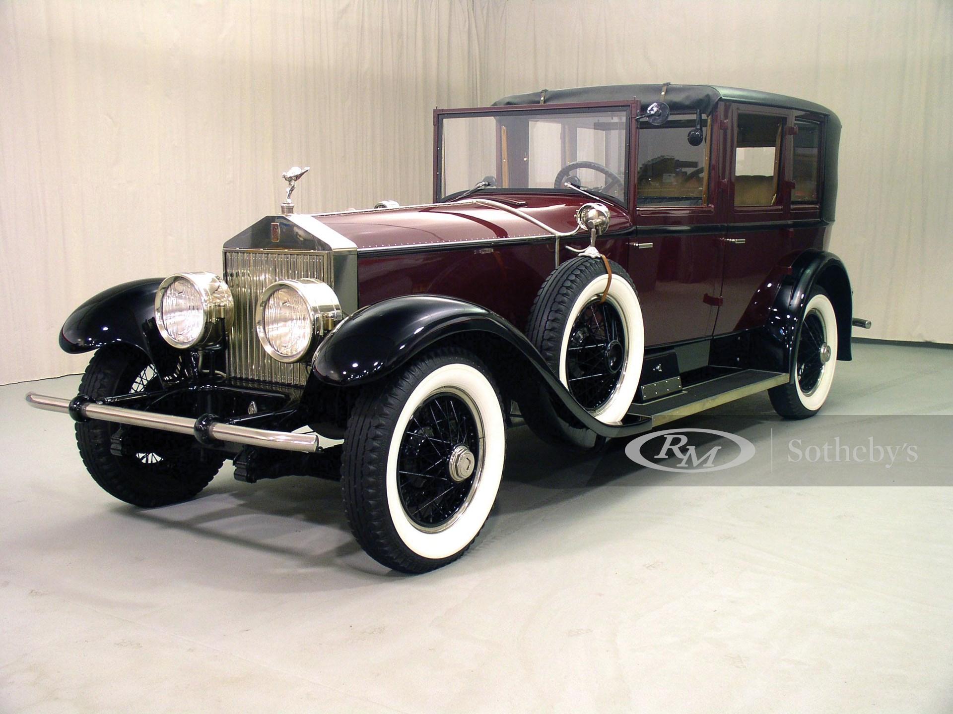 1927 Rolls-Royce Phantom I Springfield Town Car
