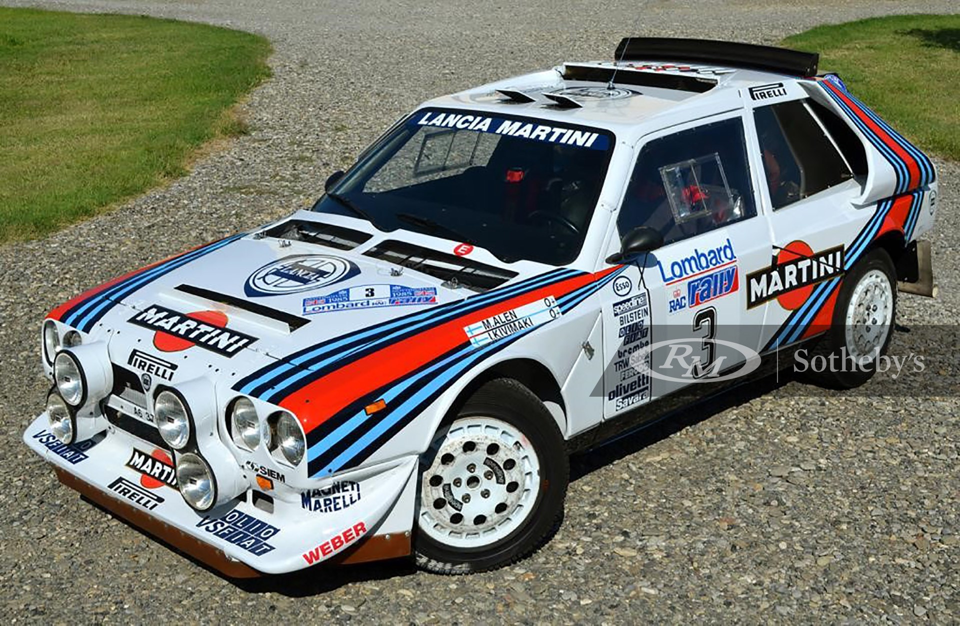RM Sotheby's Private Sales, 1985 Lancia Delta S4 Rally