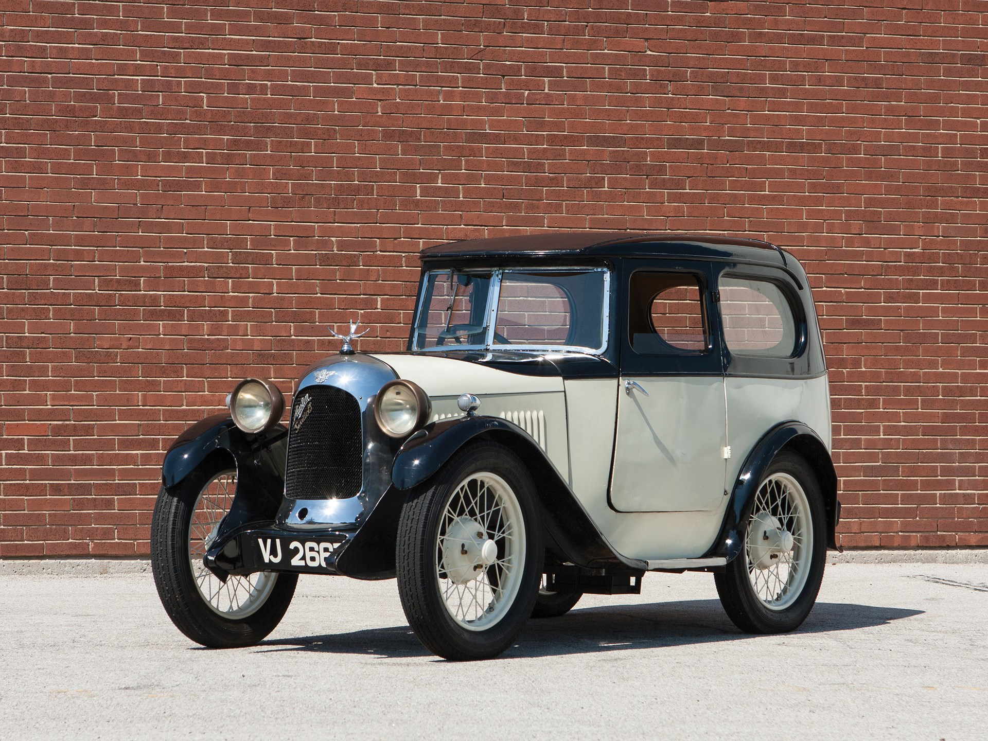 1930 Austin Seven Saloon by Swallow