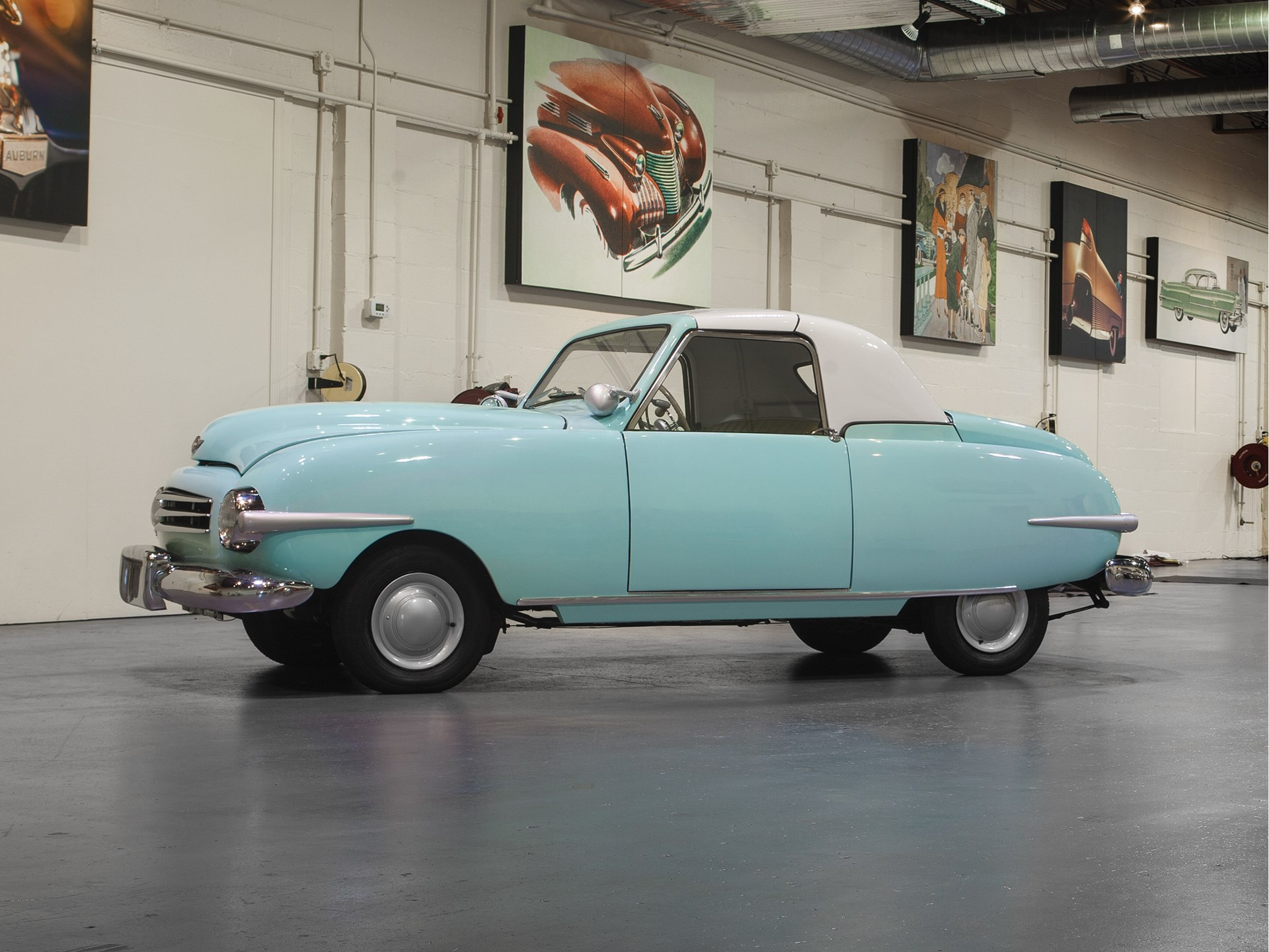 Image result for rm hershey 1948 Playboy A48 Convertible