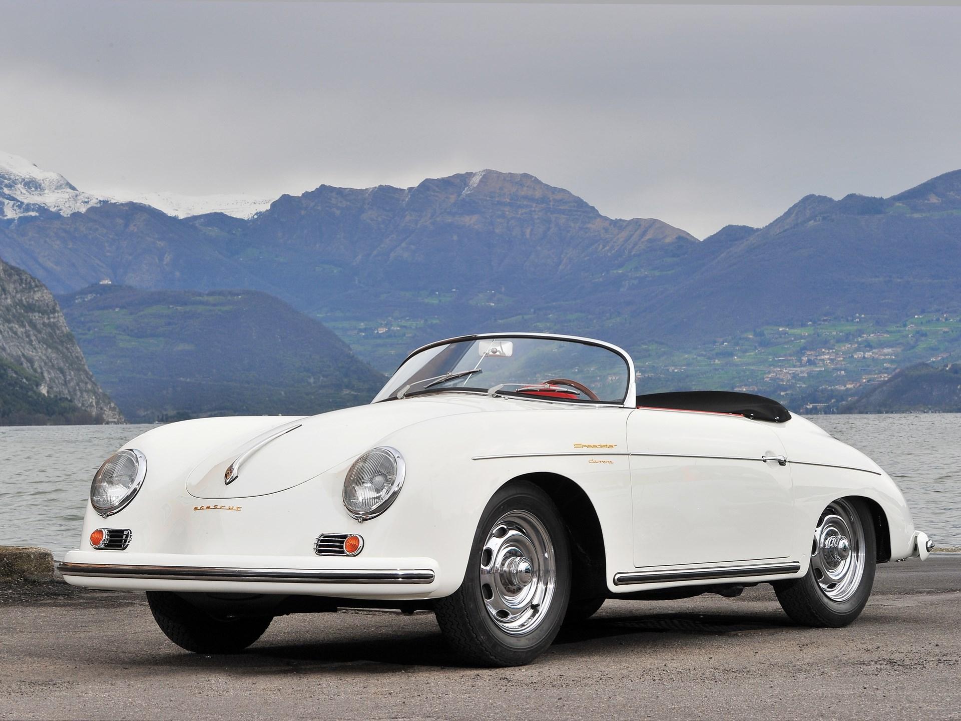 RM Sotheby\'s - 1956 Porsche 356 A Carrera 1500 GS Speedster by ...