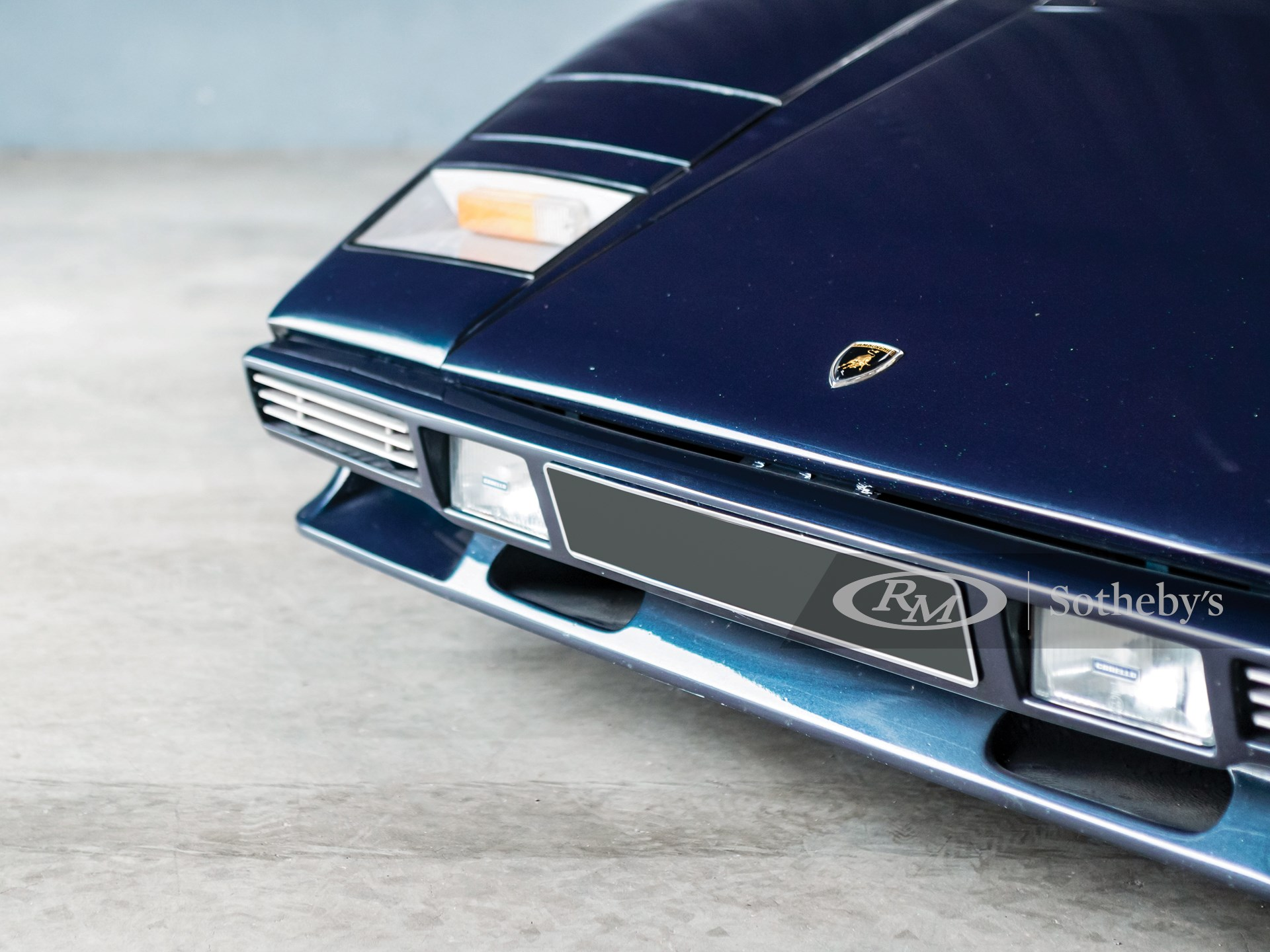 1979 Lamborghini Countach LP400 S by Bertone -
