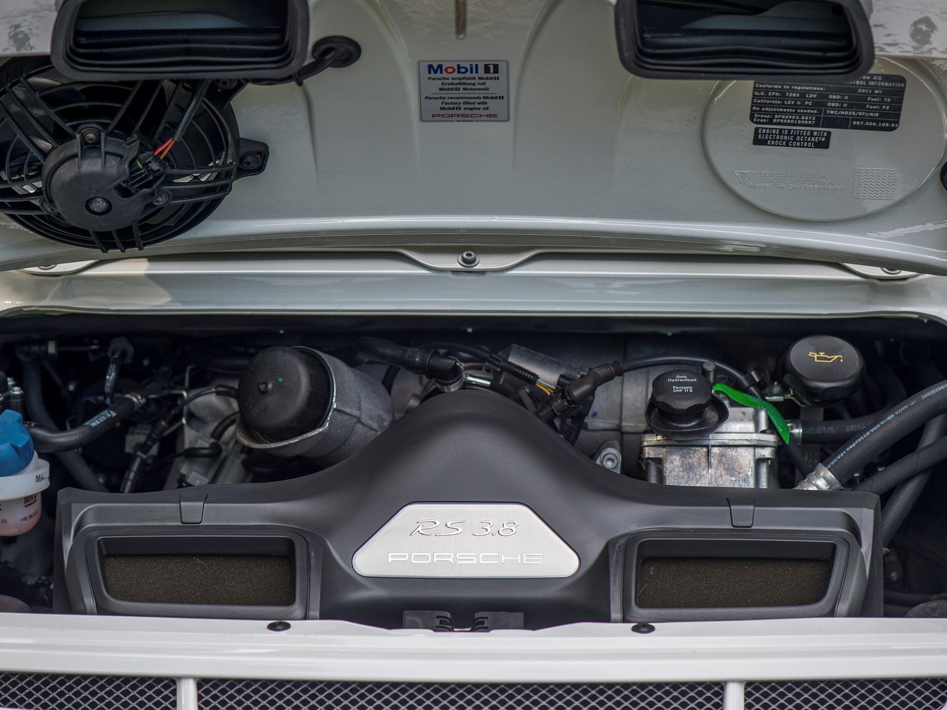 2011 Porsche 911 GT3 RS 3.8