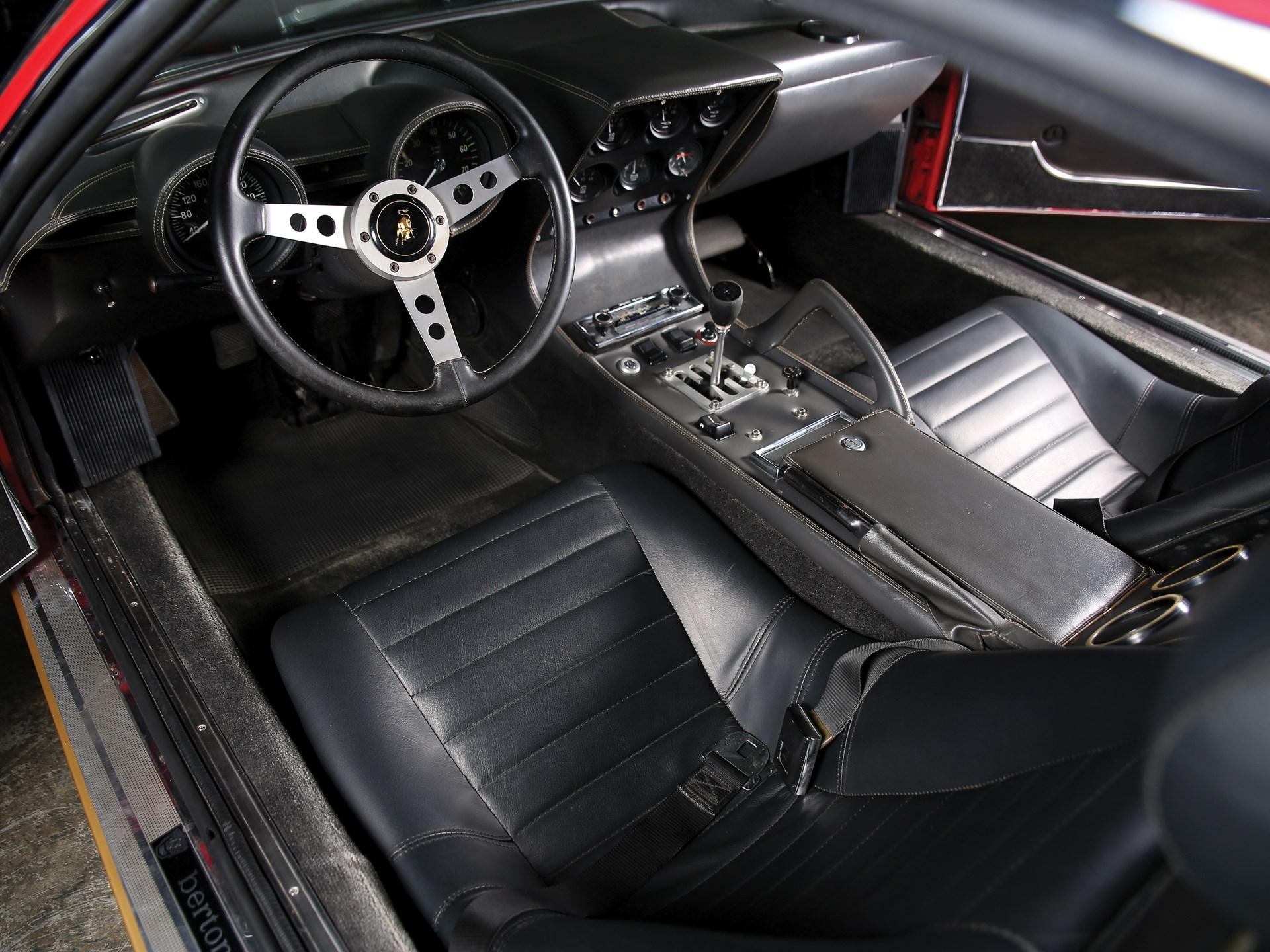 Rm Sotheby S 1972 Lamborghini Miura P400 Sv By Bertone Monterey 2016