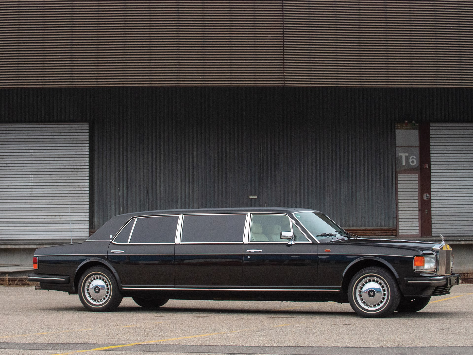 Rolls Royce Limo >> Rm Sotheby S 1987 Rolls Royce Silver Spur Limousine Essen 2019