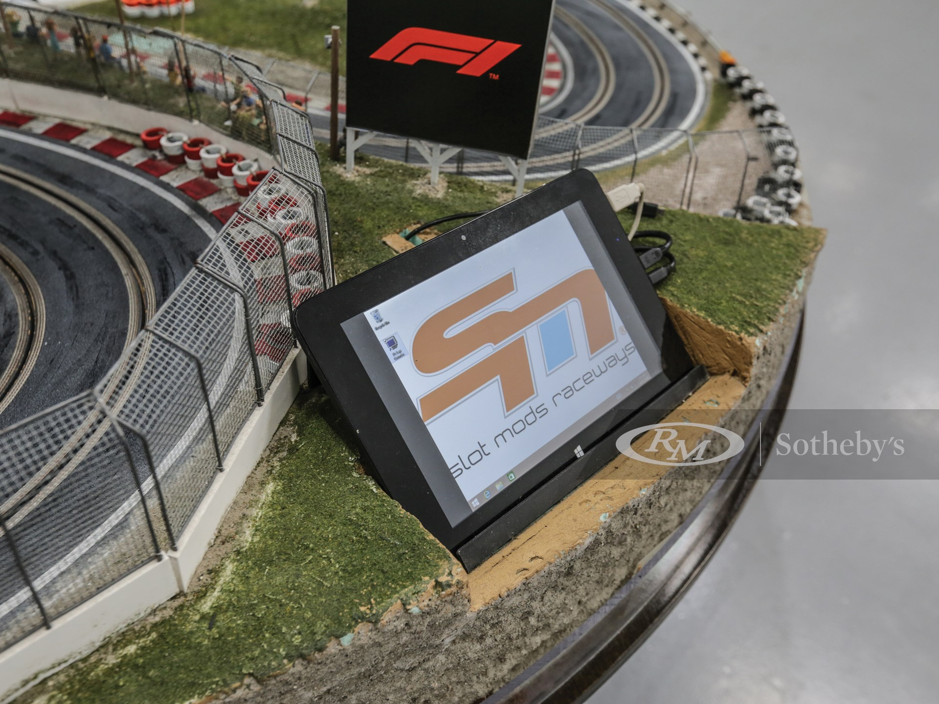 Formula 1 Slot Car Racetrack -