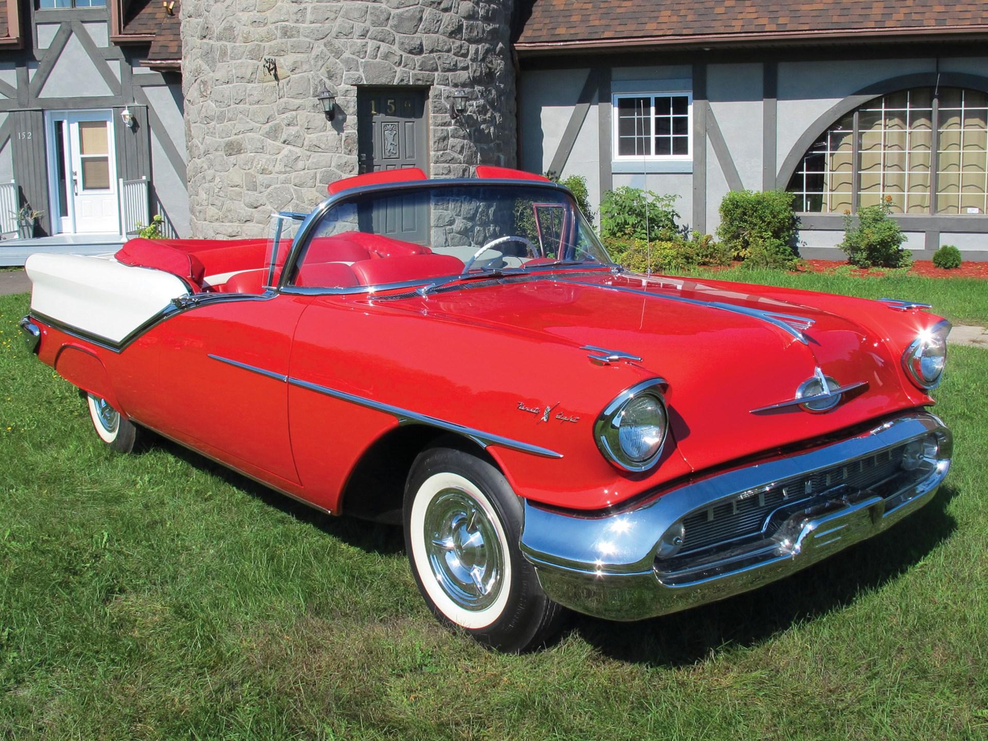 Rm Sothebys 1957 Oldsmobile Starfire Ninety Eight Convertible 1941