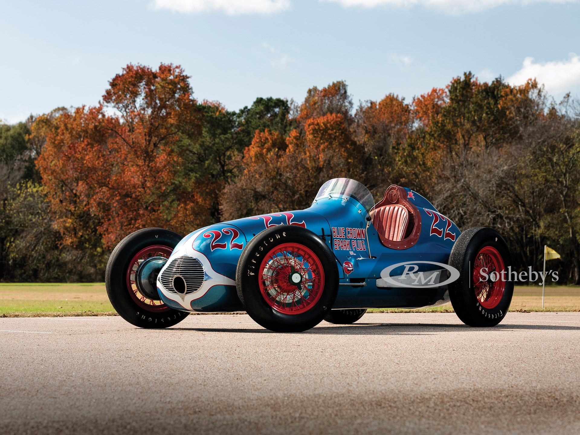 """1949 Lesovsky-Offenhauser Indianapolis """"Blue Crown Special""""  -"""