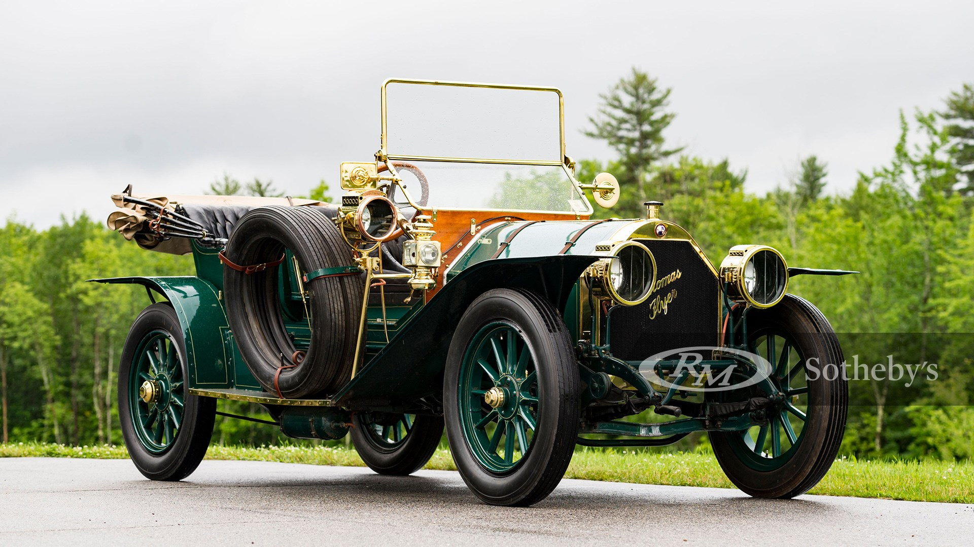 1910 Thomas Model M-6-40 Flyabout available at RM Sotheby's Amelia Island Live Auction 2021