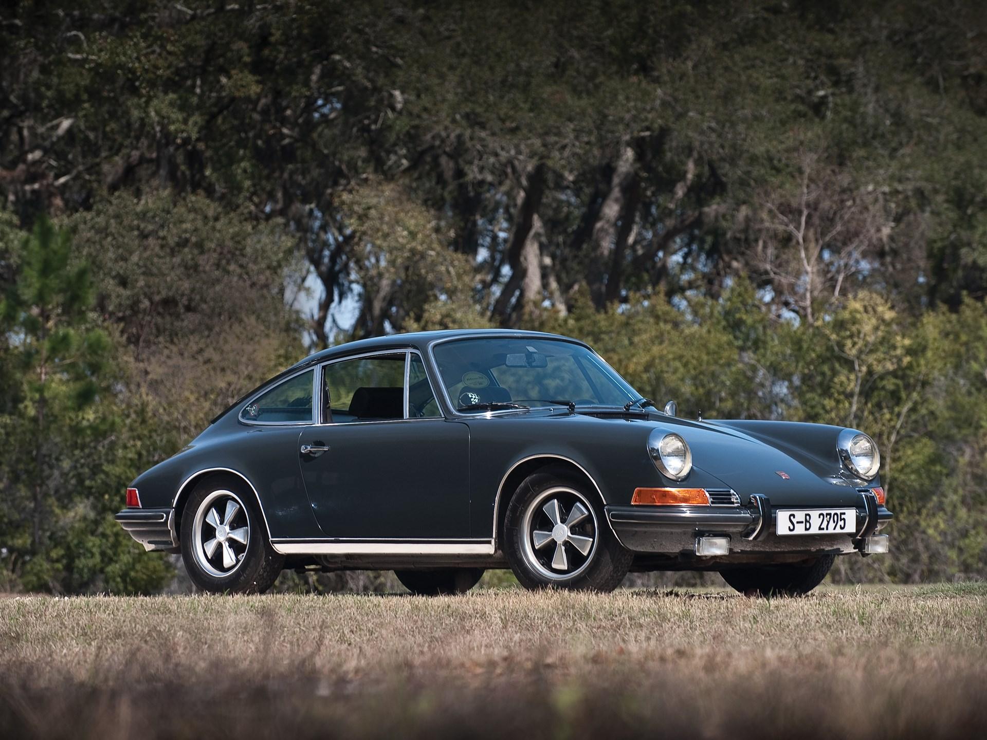 RM Sotheby's - 1970 Porsche 911S Steve McQueen Le Mans Movie Car ...
