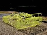 Ferrari F40 Wireframe Sculpture by Benedict Radcliffe, 2018 - $