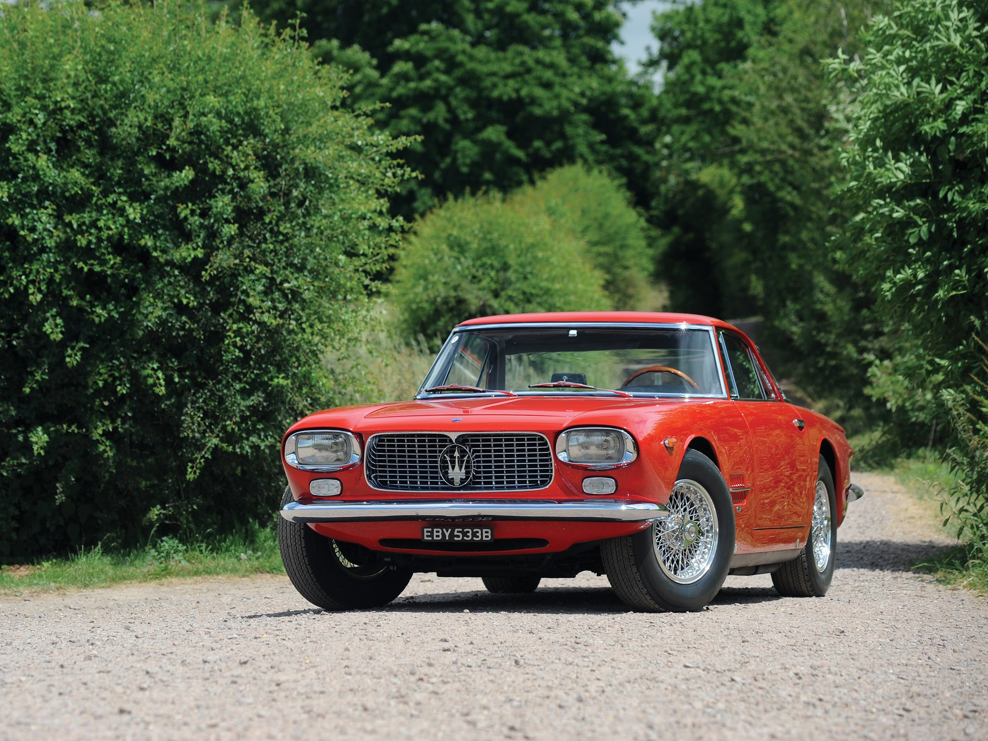 1962 Maserati 5000 GT by Allemano
