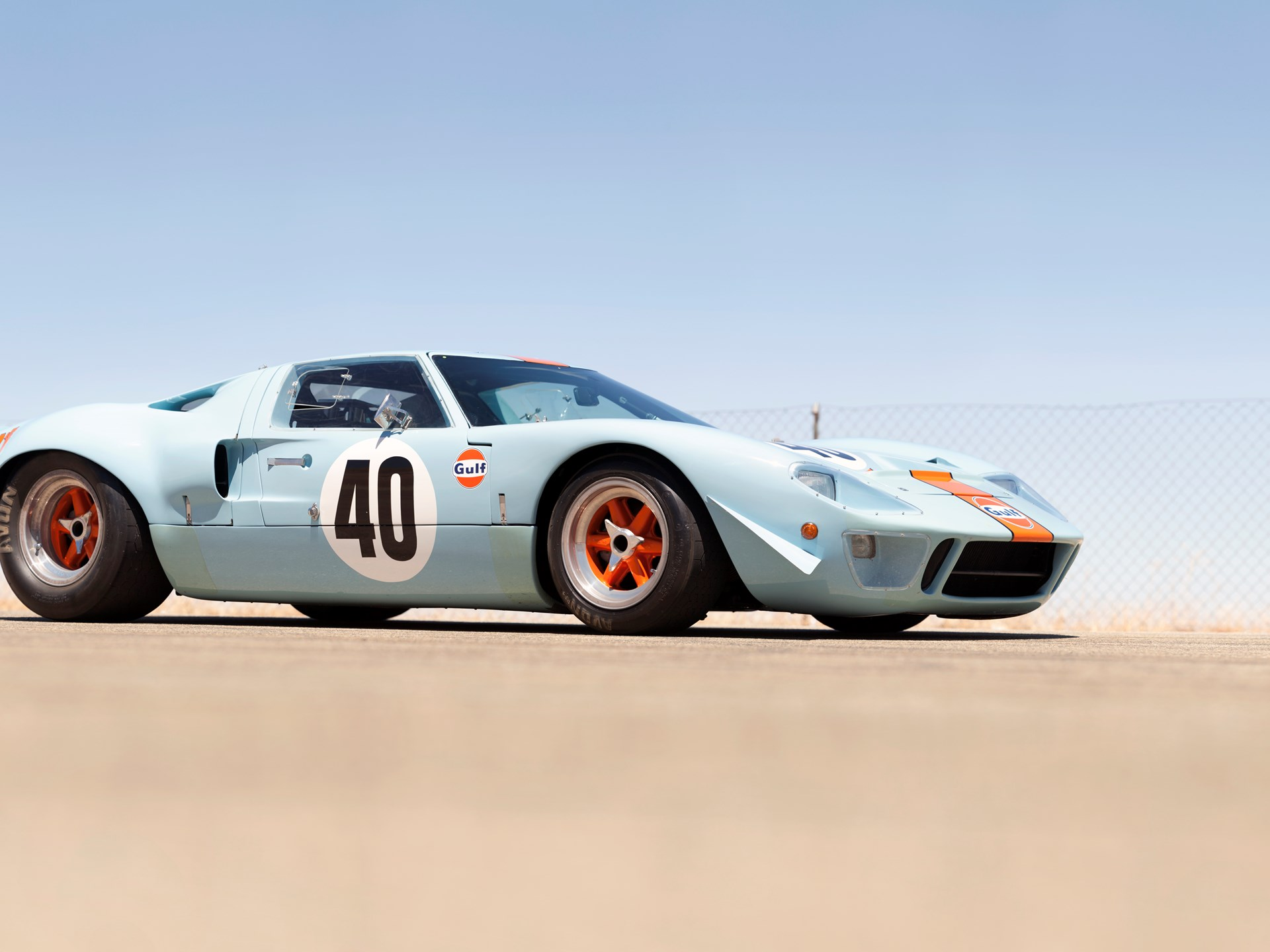 Rm Sotheby S 1968 Ford Gt40 Gulf Mirage Lightweight Racing Car