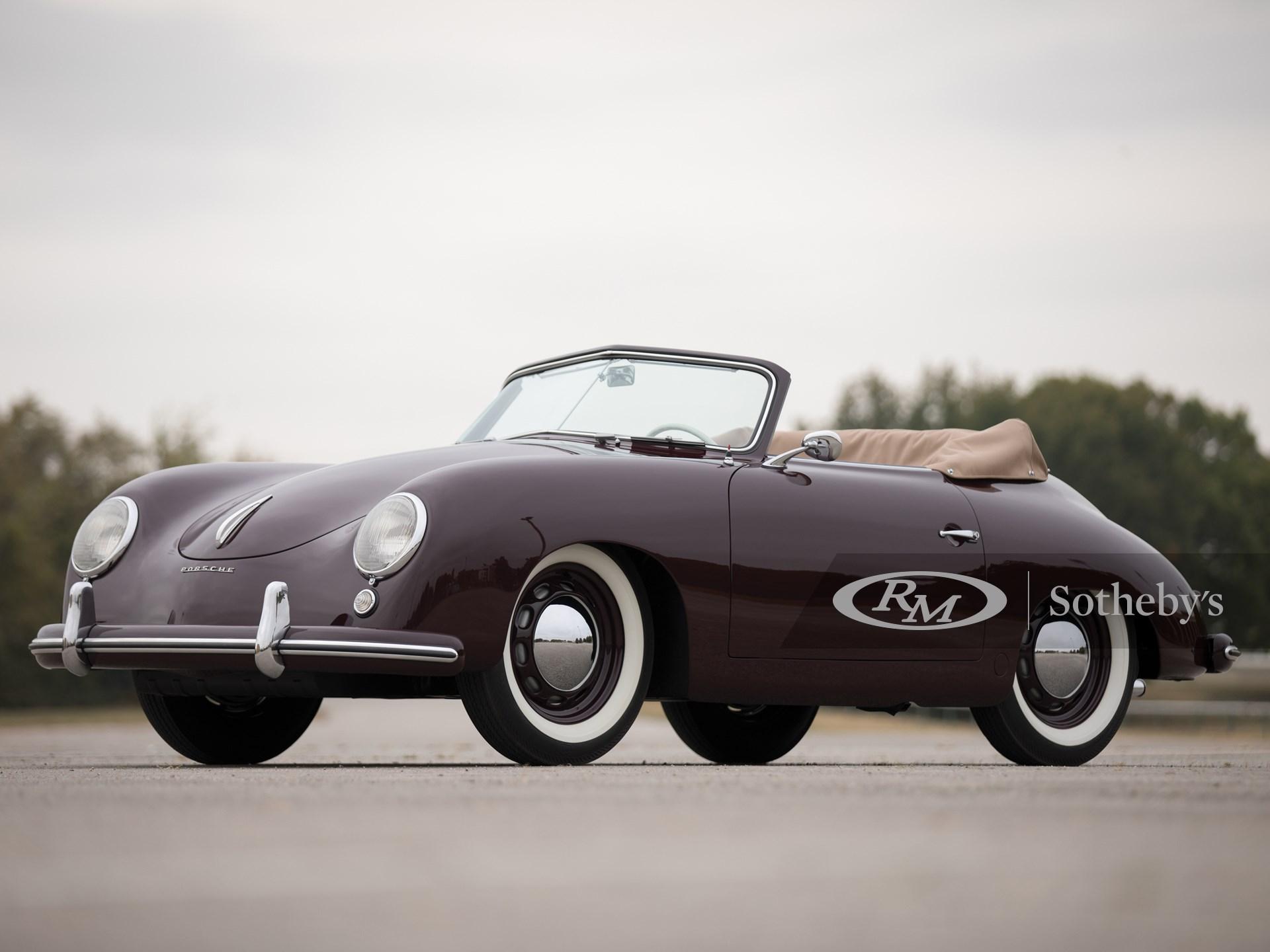 1953 Porsche 356 1500 Cabriolet By Reutter Arizona 2018 Rm Sotheby S