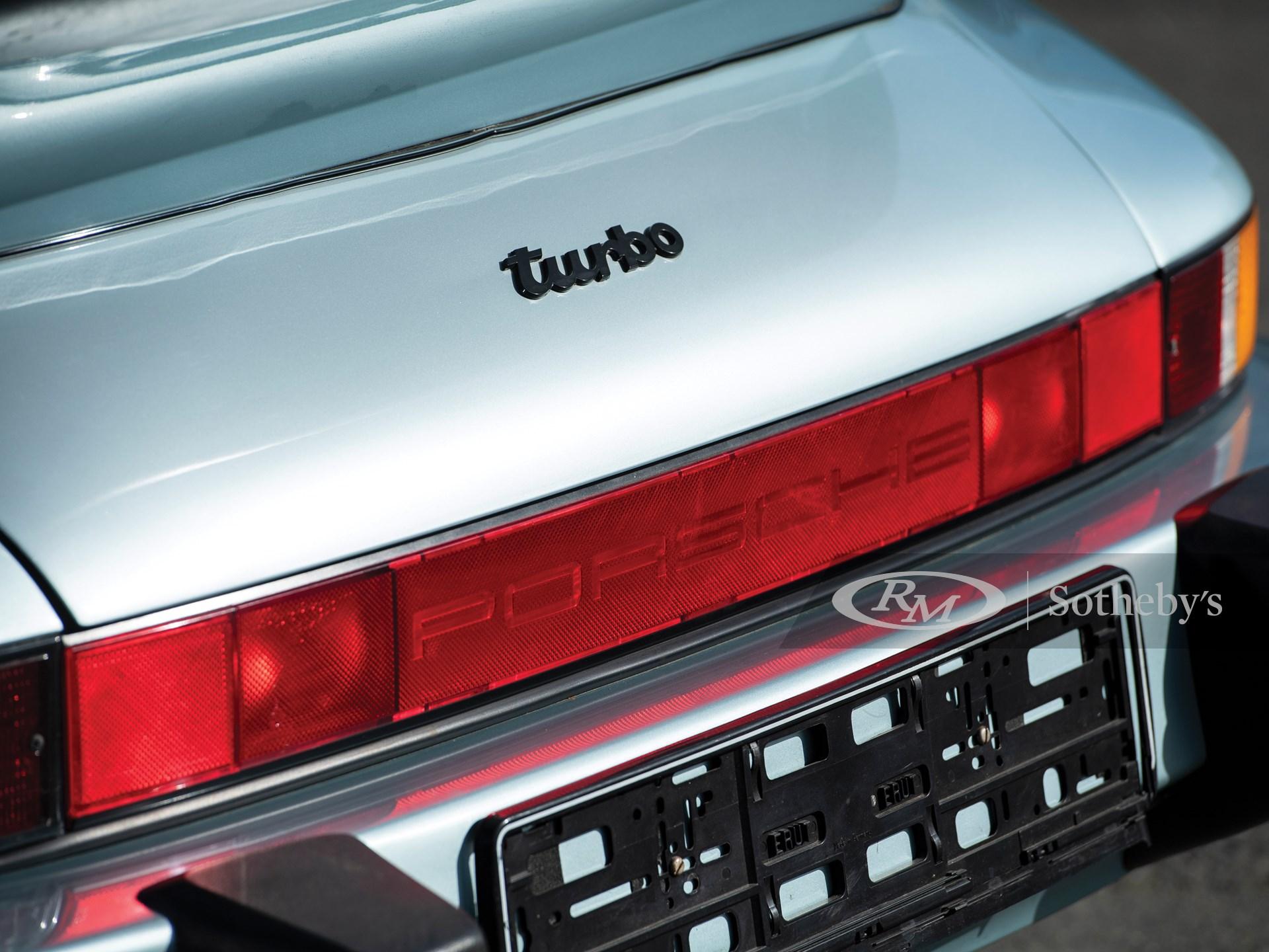 1988 Porsche 911 Turbo 3.3 Cabriolet  -