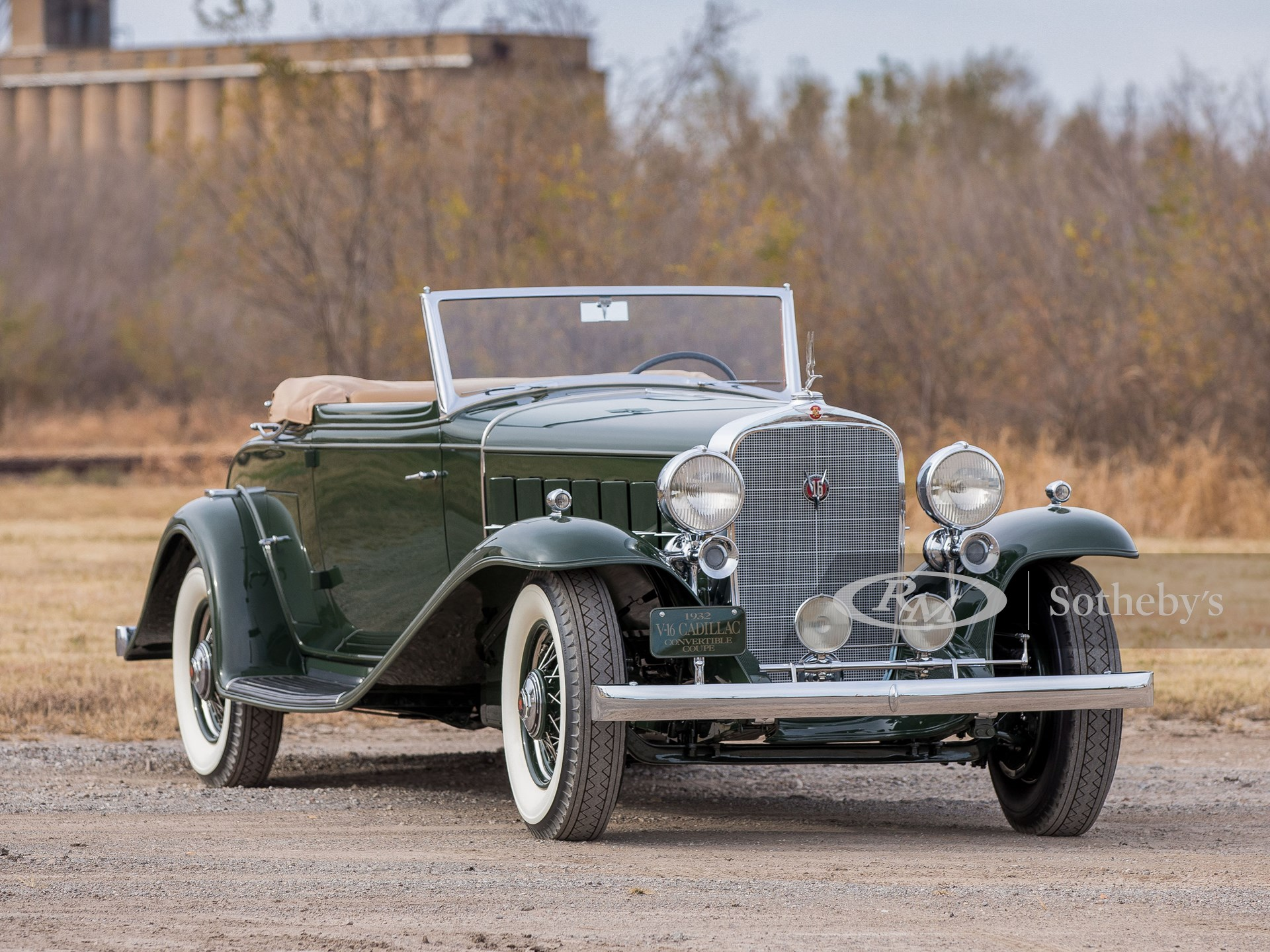 1932 Cadillac V-16 Convertible Coupe by Fisher