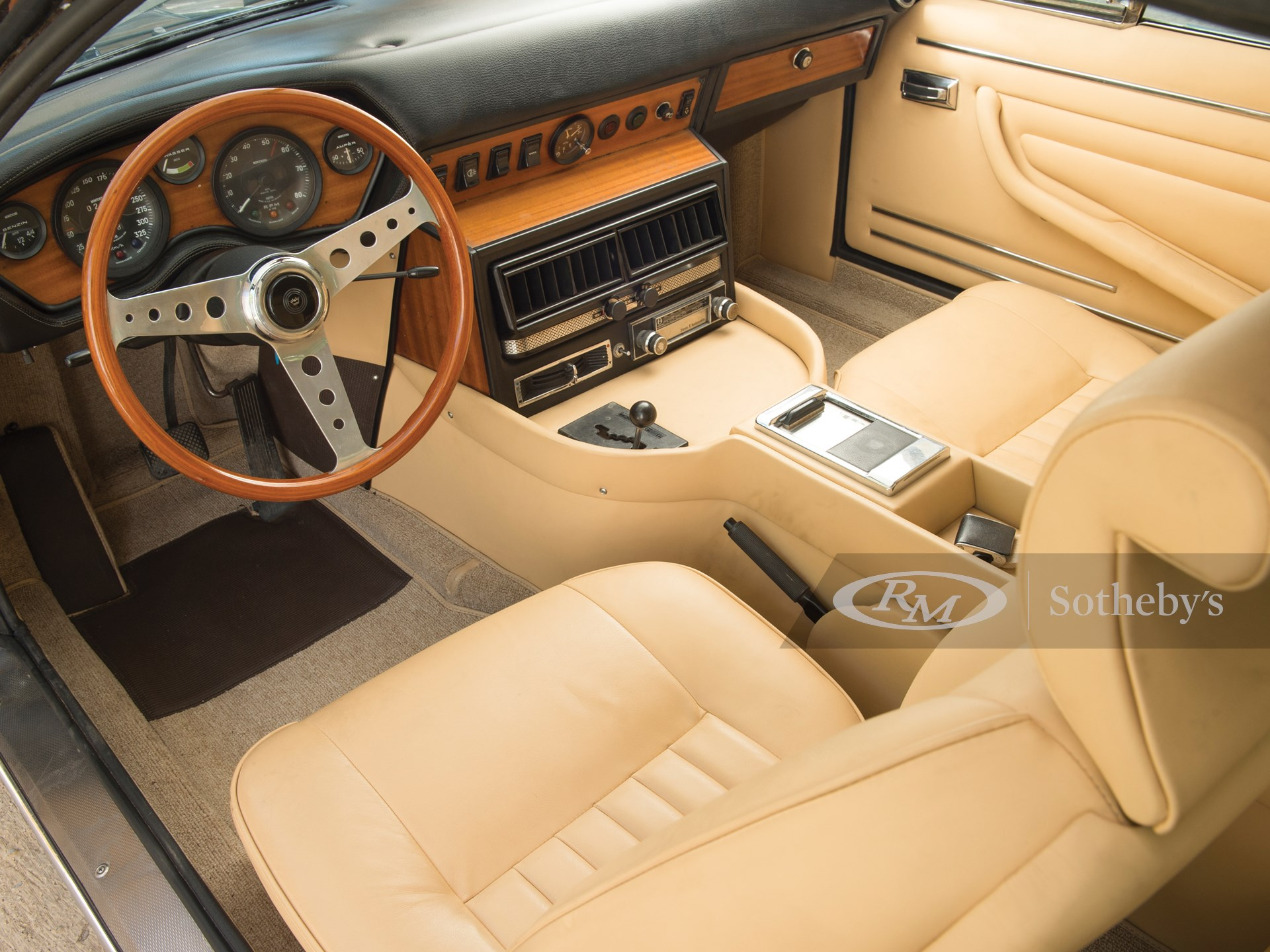 1971 Monteverdi 375/L High Speed Coupé by Fissore -