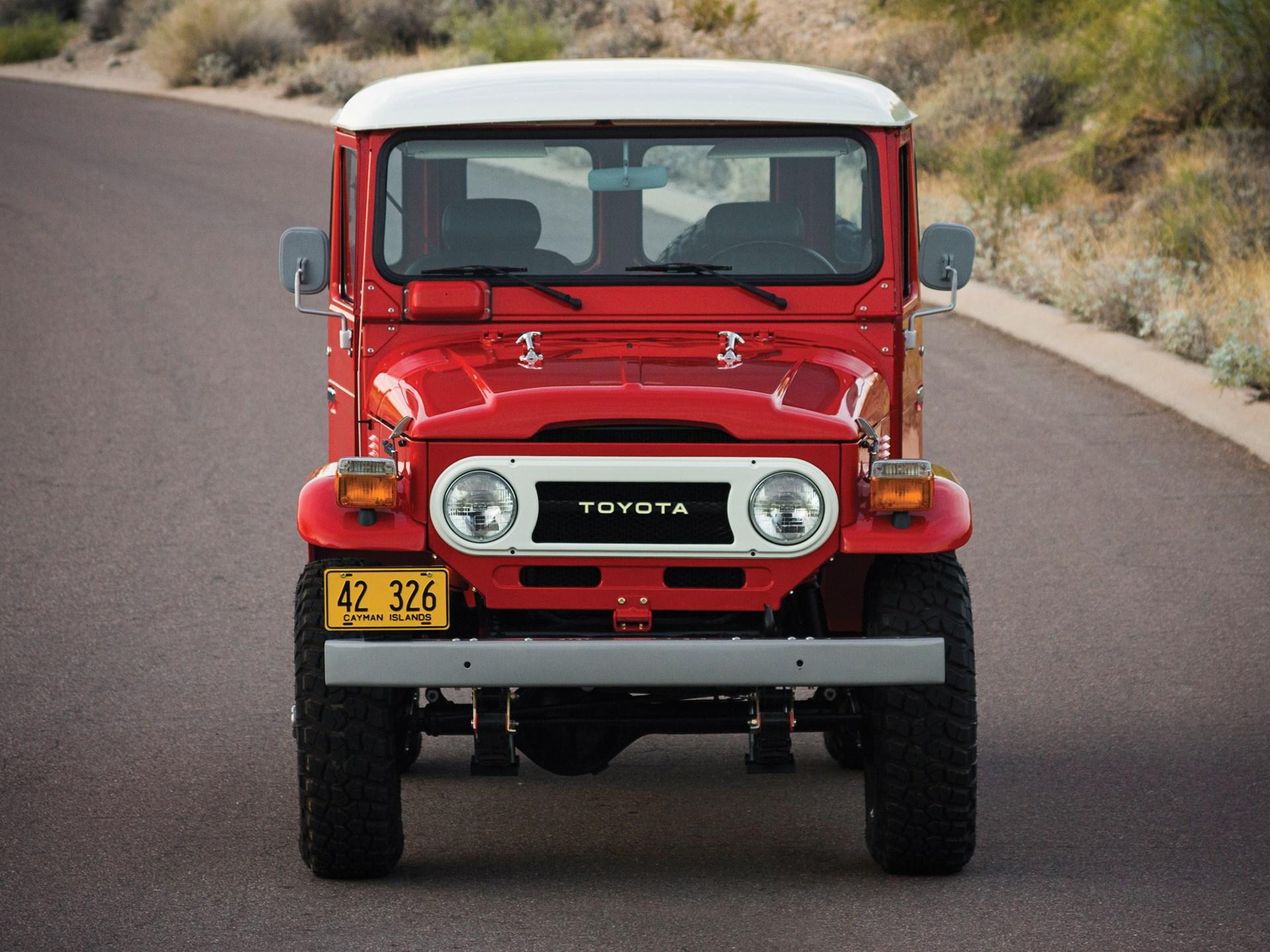 Rm Sothebys 1978 Toyota Land Cruiser Fj40 Arizona 2013 1960 Lifted