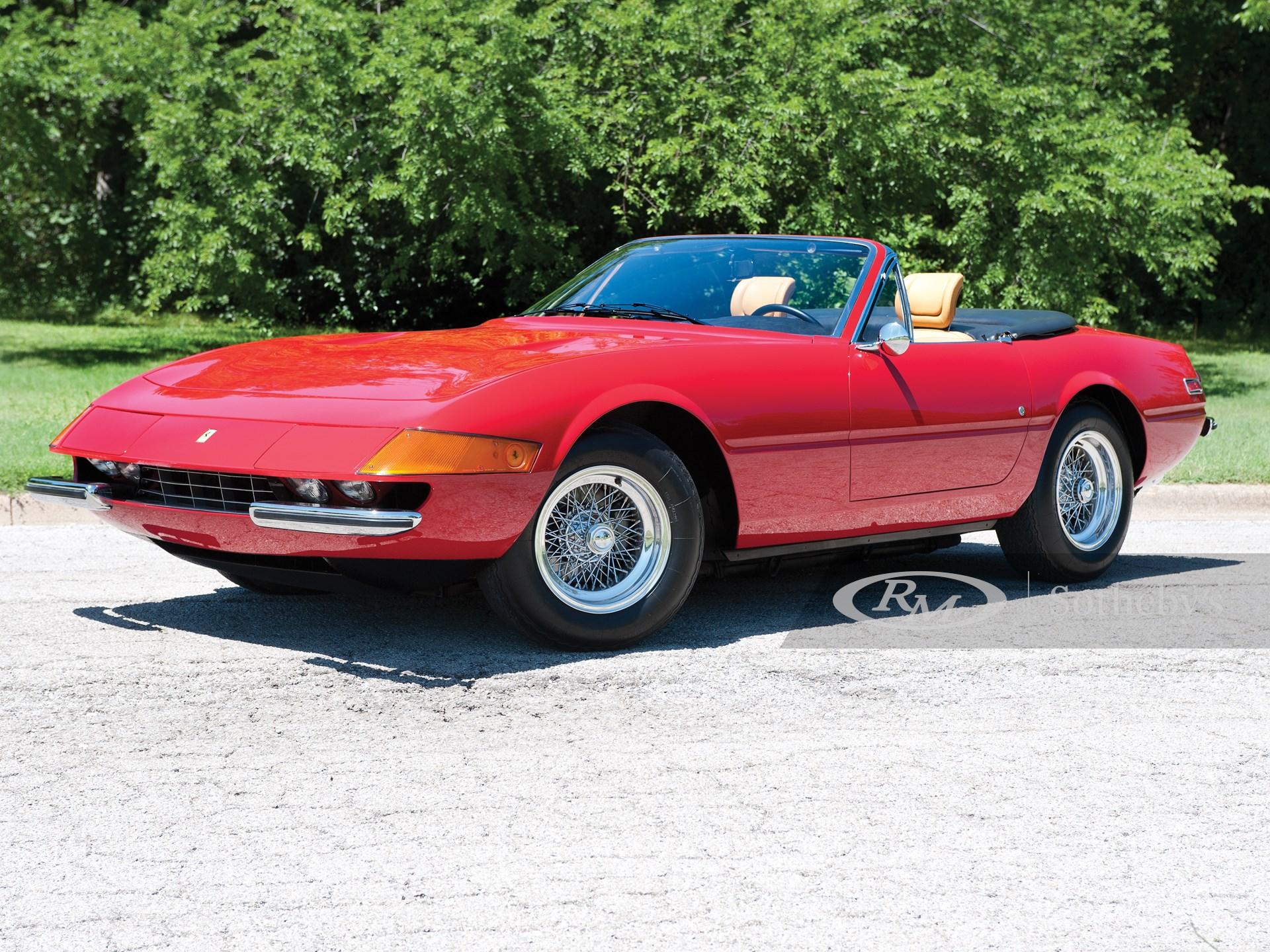 1973 Ferrari 365 Gtb 4 Daytona Spyder Monterey 2011 Rm Sotheby S